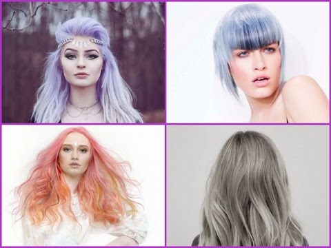 New Hair Color Trends - YouTube