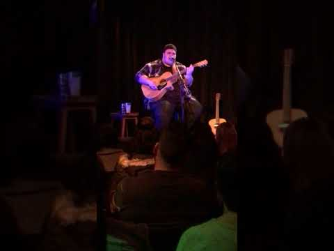 """Judah Kelly """"Paper and Pen"""" (Alecia Nugent cover) Bella Union Trades Hall Melbourne 10 Sept 2017"""