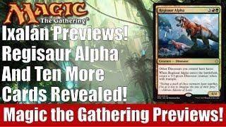 MTG Ixalan Previews! Regisaur Alpha and 10 More Cards Revealed!