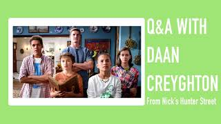 New Q&A with Daan Creyghton from Nick's Hunter Street / Celebrity Life News