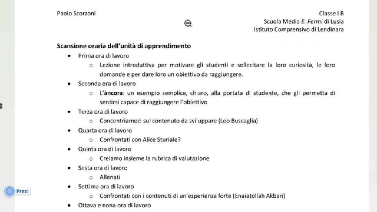 Unit di apprendimento per la costruzione di competenze for Esame di italiano per carta di soggiorno esempi