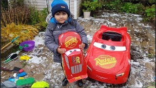 Gambar cover Disney Cars Lightning McQueen Car Wash  Learn Colors with Cars