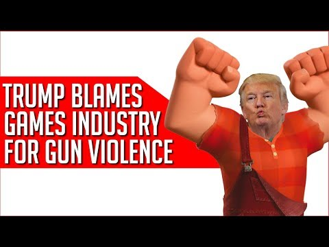Trump To Host Crisis Meeting With 'Games Industry Leaders' On Gun Violence