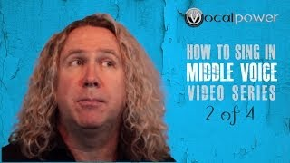 How to sing high notes softly without falsetto - Vocal power - Middle voice 2