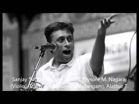 Sanjay Subrahmanyan, 1995 Full Concert- MIT, MA, USA