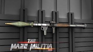 RPG at Level 18 | Maze Militia : LAN & Online Multiplayer Shooting Game