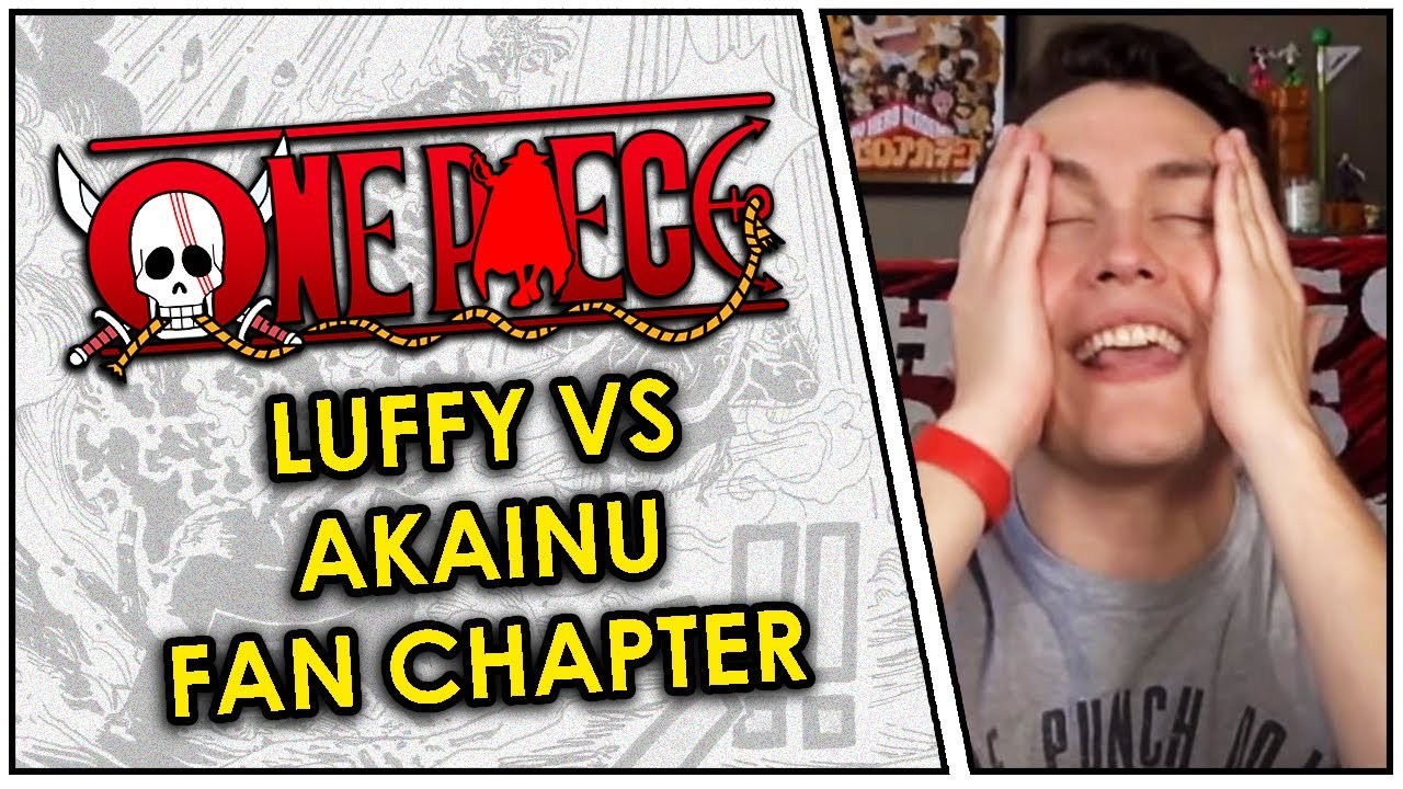 This Fan-Made One Piece Chapter is AMAZING! Luffy vs Akainu Live Reaction! - YouTube
