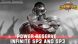 Infinite SP2 and SP3 POWER RESERVE (Ultron Assault) - Marvel Contest of Champions
