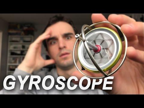 LA PLUS INCROYABLE DES TOUPIES ! (gyroscope)