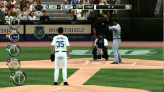 MLB 2k11 - Justin Verlander Perfect game(24 strikeouts)