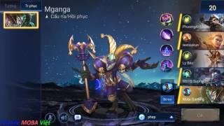Liên quân mobile: Hướng dẫn chơi Mganga - Tên hề ma quái đi Mid hiệu quả