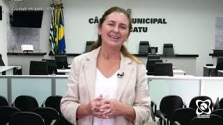Alessandra Lucchesi resgata requerimentos e projetos em que trabalhou nas últimas duas semanas