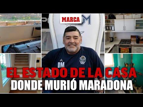 """Así era la casa donde murió Maradona: """"¿Por qué no alquilaron una mejor?"""" I MARCA"""