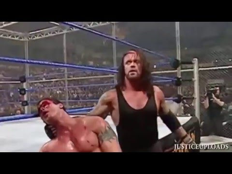 undertaker vs randy orton armagedon 2005