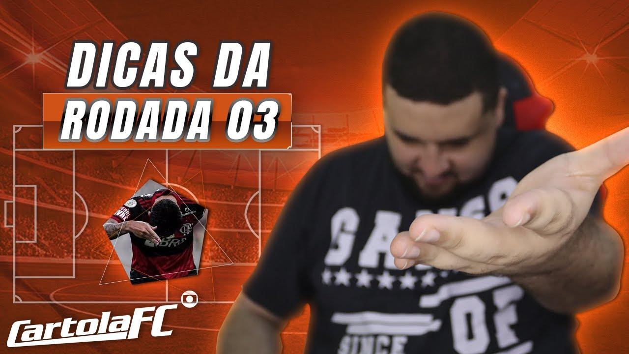 TIME ATUALIZADO PARA A RODADA 3 DO CARTOLA FC // DICAS E ANÁLISES