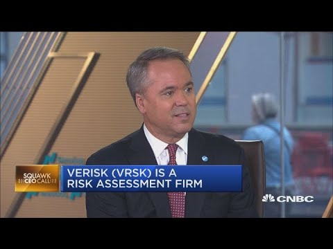 Verisk Analytics CEO weighs in on how the risk assessment firm uses data