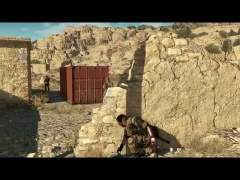 METAL GEAR SOLID V: THE PHANTOM PAIN | E3 2014 GAME PLAY DEMO