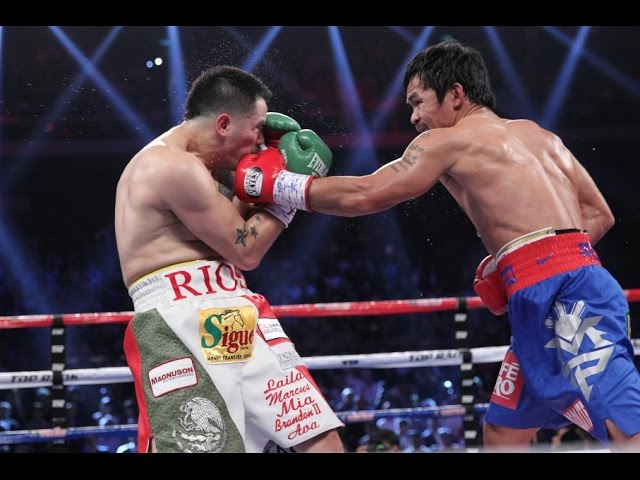 Manny Pacquiao vs. Brandon Rios #1