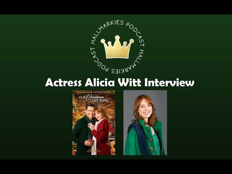 Hallmarkies: Actress Alicia Witt Interview (Our Christmas Love Song)