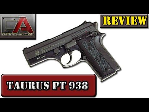 Review e Desmontagem da Taurus PT-938 Calibre .380 AUTO