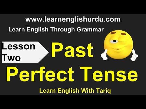 Past Perfect Tense In Urdu - Learn English Grammar In Urdu