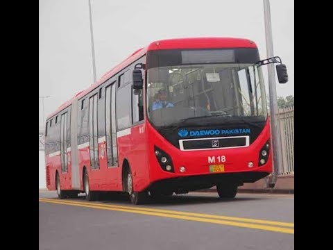 How much was the cost of metro bus construction?