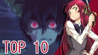 Top 10 Attention Holding Anime of 2013