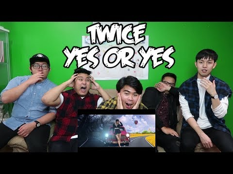 TWICE - YES OR YES MV REACTION (FUNNY FANBOYS)