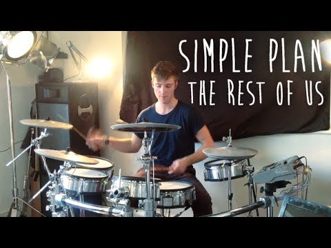 Simple Plan - The Rest Of Us (DRUM COVER) (NEW SONG) | Simon Williams
