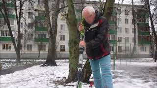 ВидеоУрок 9. Азы горнолыжной техники. Лыжи, крепления, палки. MVI 1700 1