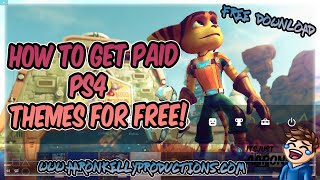 HOW TO GET PAID THEMES ON PS4 FOR FREE! {PS4 FW 5.05}