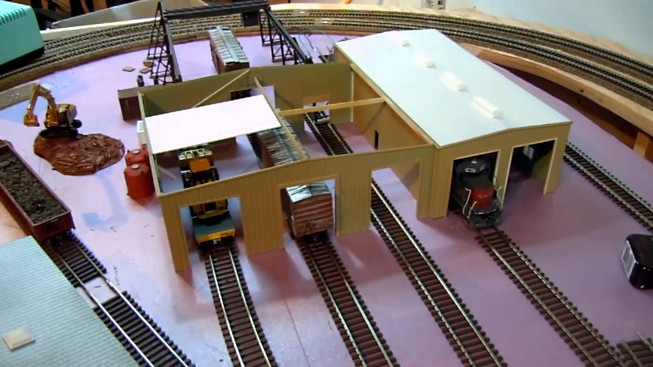 Ho Layout Video 8 Locomotive Facility Update Youtube