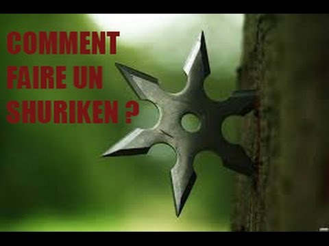 comment faire un shuriken en papier youtube. Black Bedroom Furniture Sets. Home Design Ideas