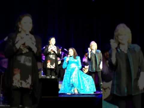 Loretta Lynn 85th Birthday Concert with Crystal Gayle and Peggy Sue. April, 14th 2017. Ryman