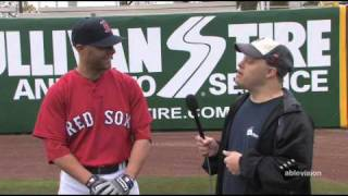 Ablevision interviews Red Sox second baseman Dustin Pedroia