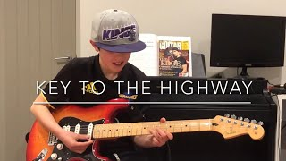 KEY TO THE HIGHWAY | GREAT BLUES GUITAR SONG TO LEARN