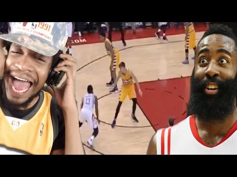 HIT EM WITH 5 MOVES!! HARDEN'S NASTIEST CROSSOVER EVER! ROCKETS vs NUGGETS HIGHLIGHTS REACTION!