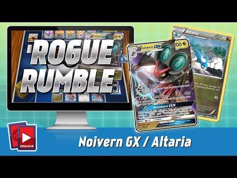 Noivern GX / Altaria Deck | ROGUE RUMBLE (B&W - Forbidden Light)