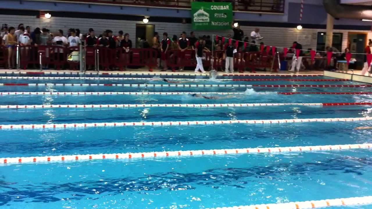 Rebeca de la cruz 100 espalda piscina parque del sureste rivas vaciamadrid youtube - Piscina rivas vaciamadrid ...