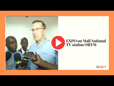 QNET EXPO on Mali National TV station ORTM