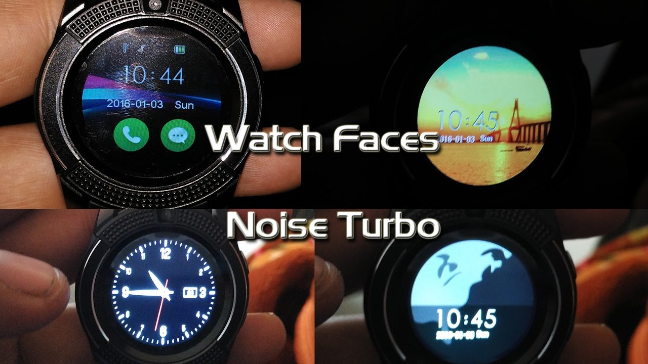 Go Noise Turbo Smart Watch Watch faces