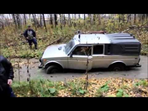 4x4 Off road Siberia Lada Niva vs UAZ 452 Extreme Adventure