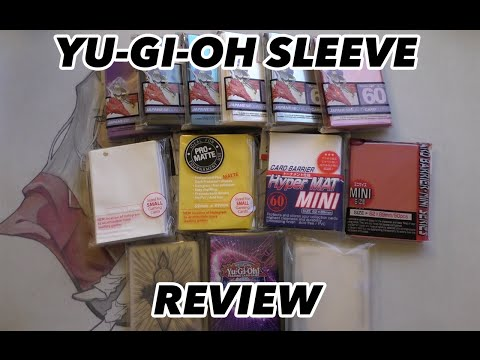 Yu-Gi-Oh Sleeve Review - ALL THE SLEEVES!