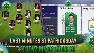 Die besten Investments für diese Woche / St. Patricks Day + TOTW / FIFA 18 trading tipps deutsch