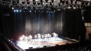 """Театр танца «Искушение» шоу """"Под дождем"""" в Омске"""