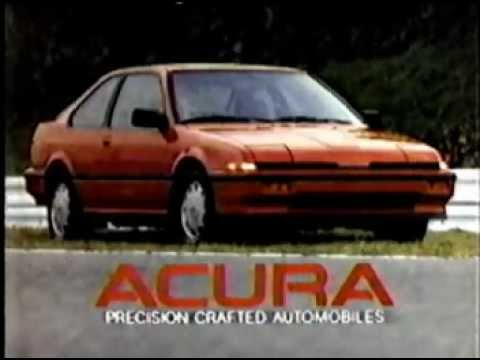 1987 acura integra commercial youtube 1987 acura integra commercial sciox Images
