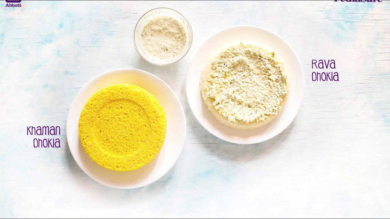 PediaSure - Yummy Kitchen - Dhokla Sandwich - YouTube