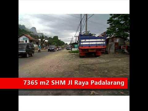 Jual Tanah di Jalan Raya Padalarang – LT 7365 m2 - Jual Rumah Bandung .NET