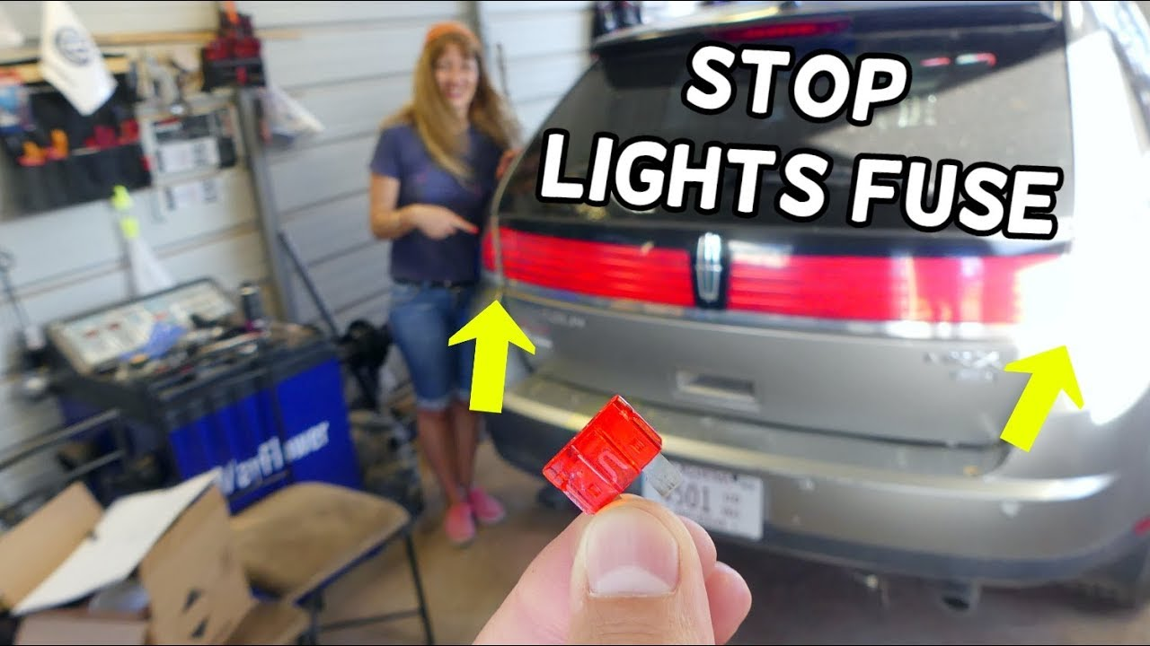 Lincoln Mkx Brake Light Switch Fuse Location Replacement  Brake Lights Stop Lights Not Working