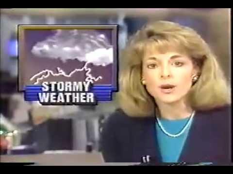 "WKRN Nashville ""Channel 2""-""Channel 2 News Nightside"" open April 14, 1990"
